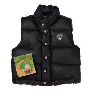 BONPOINT • Black Puffer Vest Jacket